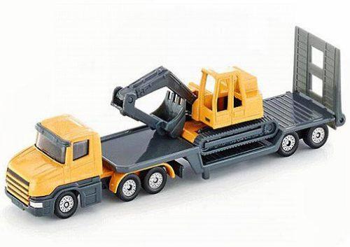 Siku kamion markolót szállító trélerrel - 1611