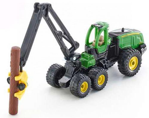 Siku 1:87 John Deere Harvester 1470E fakitermelő traktor - 1652