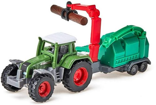 Siku 1:87 Fendt Favorit traktor fa aprítóval - 1675