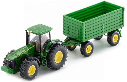 Siku Farmer 1:50 John Deere 8430 traktor utánfutóval - 1953