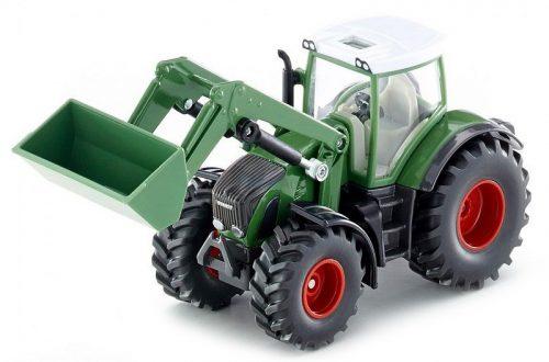 Siku Farmer 1:50 Fendt 936 traktor homlokrakodóval - 1981