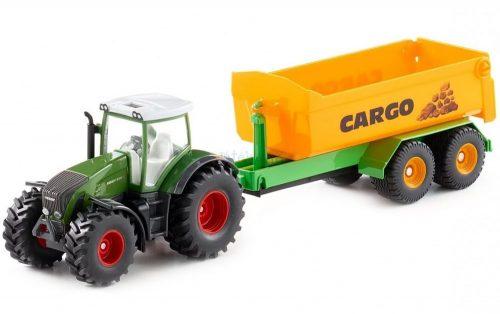Siku Farmer 1:50 Fendt 936 traktor utánfutóval - 1989