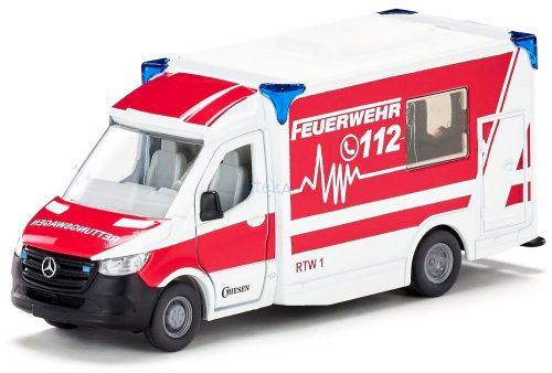 Siku 1:50 Mercedes-Benz Sprinter Miesen Type C mentőautó - 2115