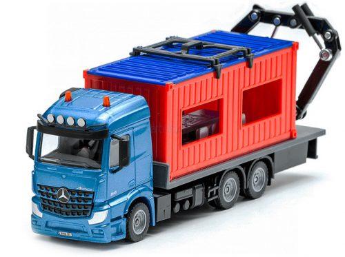 Siku 1:50 Mercedes-Benz Arocs kamion konténerrel - 3556