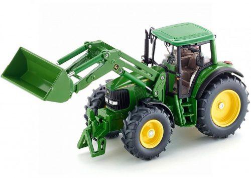 Siku Farmer 1:32 John Deere traktor homlokrakodóval - 3652