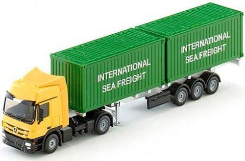 Siku 1:50 Mercedes-Actros konténer szállító kamion - 3921