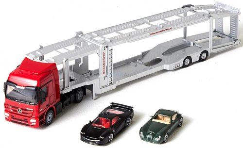 Siku 1:50 Mercedes-Benz Actros autószállító kamion - 3934