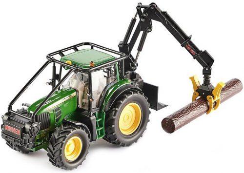 Siku Farmer 1:32 John Deere 6210R erdészeti traktor - 4063