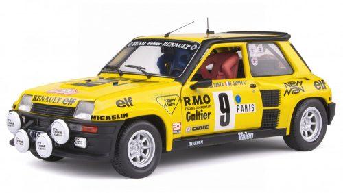 Solido 1:18 Renault RS Turbo N9 Rally Montecarlo (1982) SABY versenyautó 1801311