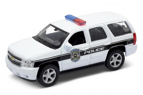 Welly 1:32 Chevrolet Tahoe (2008) rendőrautó 49720
